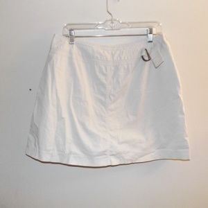 St John's Bay Cream Skort 14 Stretch